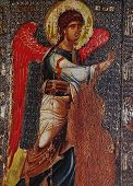frescoe in church of peribleptos, Ohrid