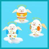 Holly Easter Eggs