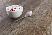 Yogurt On The Table