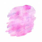 Violet Watercolor Stain