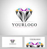 image of diamond  - Diamond Logo Design - JPG