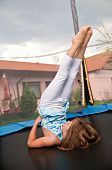 Excercise On Trampoline