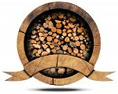 Lumber Industry - Wooden Icon