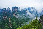 Natural Scenery of Zhangjiajie