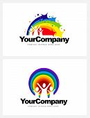 picture of kindergarten  - Kindergarten Logo Design - JPG