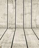 Old White Wood Crate Background