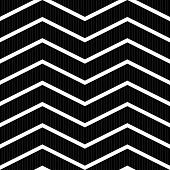 Seamless Texture With Zigzag Pattern