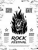stock photo of rocking  - Grunge - JPG