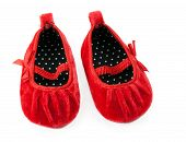 Red Baby Booties