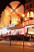 stock photo of moulin rouge  - PARIS  - JPG