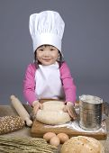 Постер, плакат: Маленькие повара 011