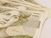 Czech currency CZK