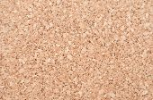 Empty Corkboard - Cork Texture