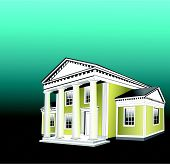 Greek Revival Style.Eps