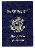 United States of America Passport (With Clipping Path)