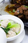 foto of wanton  - wonton soup - JPG