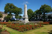 War Memorial. Newtownards, County Down, Northern Ireland.