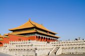 the Forbidden City of Qing, Ming Dynasty in Beijing, China