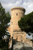 Palma  Beliver Castle Tower And Entrance