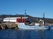 Fishing boat, Greenland