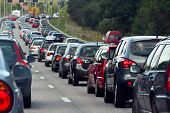 stock photo of commutator  - Typical scene during rush hour - JPG