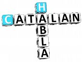 3D Habla Catalan Crossword