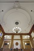 Baroque Ceiling In Pioneer Courthouse