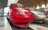 France, Paris: High Speed Train In North Railway Station