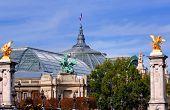 France, Paris: Famous Monuments Statue Of Grand Palais