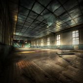 Gimnasio abandonado