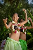 Beautiful Young Female Tahitian Dancers