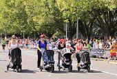 Marathon Baby Pram Stroller Race
