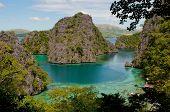 Kayangan Lake Or Blue Lagoon, Coron Island, Philippines