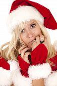 Mrs. Santa Close Sad