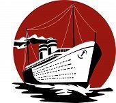 Passenger Ship Steaming Towards You