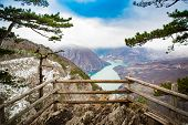 Viewpoint Banjska Stena Is One Of The Most Beautiful Viewpoints In Serbia, It Is Located On The Tara poster