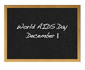 World Aids Day.