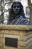 Bust Of Samuel Pepys In Seething Lane Garden