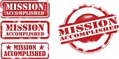 Mission Accomplished Achievement Stamp