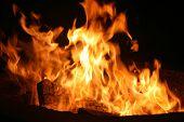 Fondo de llamas