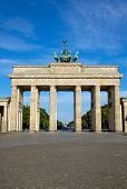 The famous Brandenburger Tor in Berlin