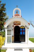 The Small Church At Hotel, Pieria, Greece