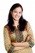 Beautiful Happy Indian Girl