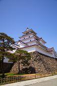 Aizu Wakamatsu Castle, Fukushima, Japan