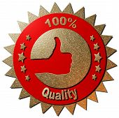 100% Quality (Red)