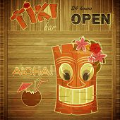 Vintage Design Hawaii Menu