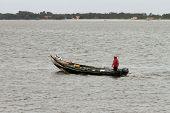 Aveiro, Portugal - July 4: Fishermen Preparing For Fishing On The Ria Of Aveiro, In Aveiro, Portugal