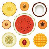 Fruit Half Set