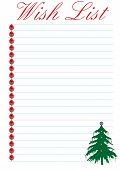 Wish List - Christmas
