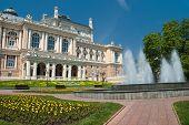Public opera theater in Odessa Ukraine